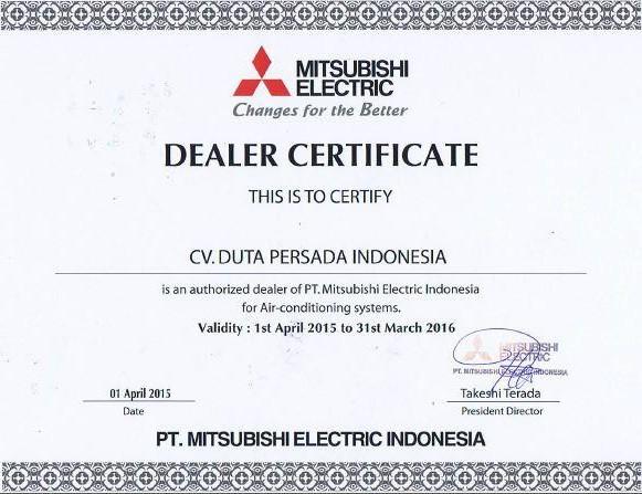 Dealer Certificate2