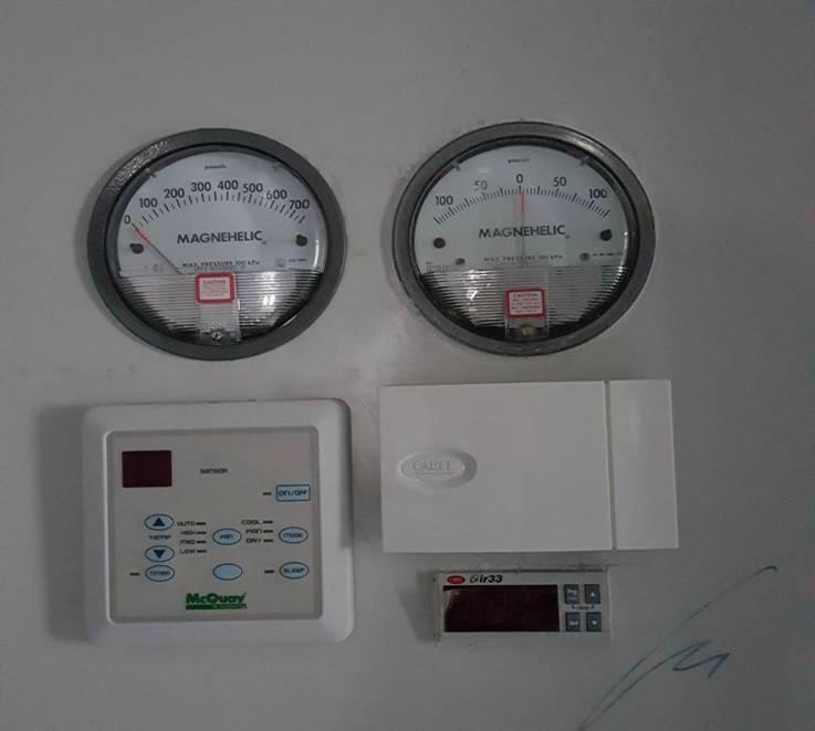 RH Controller, Temperatur Controller, Magnehelic